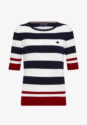 SUMMER - Jumper - navy-white-red