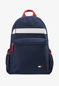 Tommy Hilfiger - KIDS FLAG BACKPACK - Zaino - blue - 1
