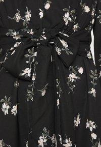 Vero Moda - VMFALLIE TIE DRESS - Skjortekjole - black - 7