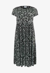 Live Unlimited London - Jersey dress - black - 1