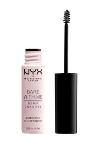 Nyx Professional Makeup - BARE WITH ME CANNABIS OIL BROW SETTER - Baza pod cienie - 01 clear - 1