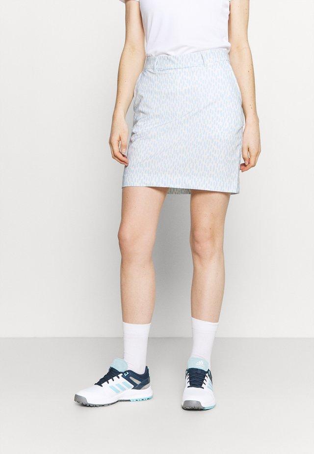 WOMEN ICE LIGHT SKORT PRINTED - Gonna sportivo - buttercream/cloud blue