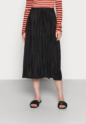 UMA SKIRT - Jupe plissée - black