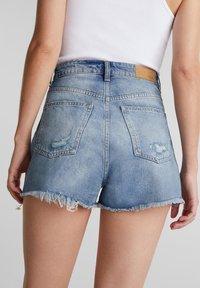 edc by Esprit - FESTIVAL  - Denim shorts - blue medium washed - 5