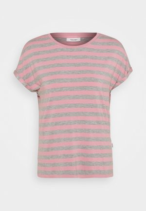 T-shirts print - multi/chalk rose