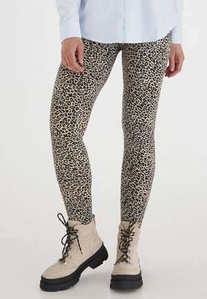 Leggings - Trousers - sand leo mix