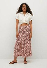 Mango - A-line skirt - donkermarine - 1