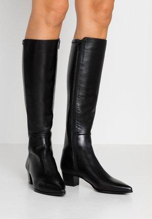 JOEL - Vysoká obuv - black