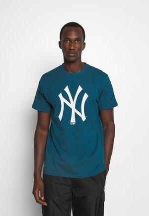 MLB NEW YORK YANKEES SEASONAL TEAM LOGO TEE - Club wear - blue/white