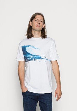 WAVE  - T-shirt print - white