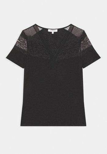 DIETER - Basic T-shirt - noir