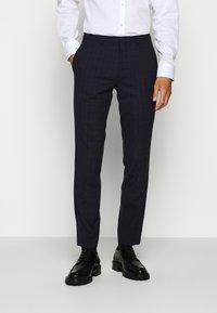 HUGO - ARTI HESTEN - Suit - blue/red check - 4