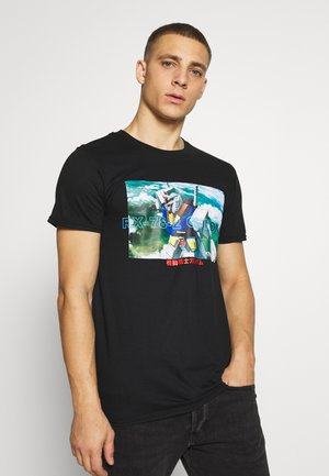 GUNDAM TEE - Print T-shirt - black