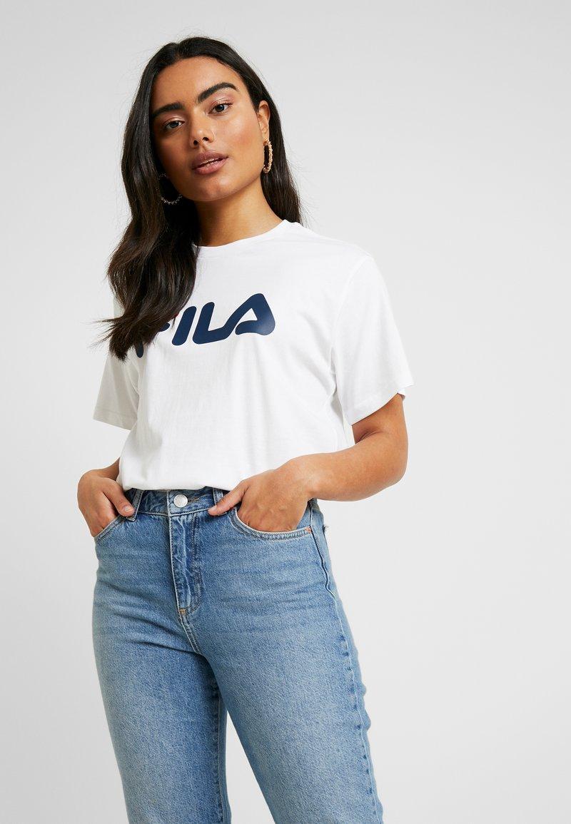 Fila Petite - PURETEE PETITE - Camiseta estampada - bright white