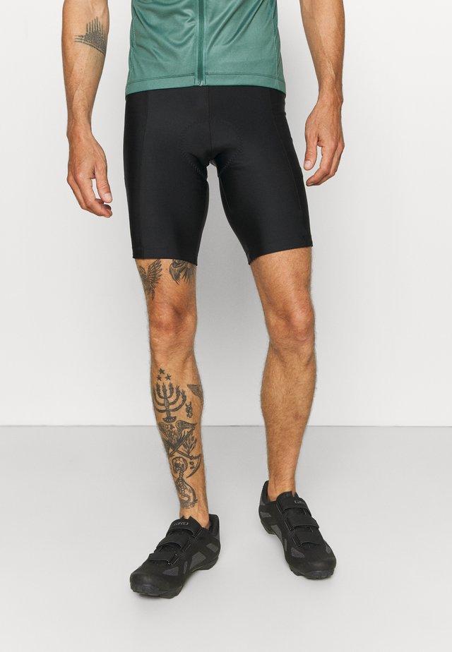 CHRONO SHORT - Leggings - black
