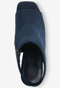 Next - Sandały z cholewką - dark blue - 2