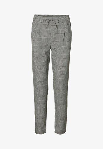 VMEVA CHECKED PANTS  - Trousers - grey