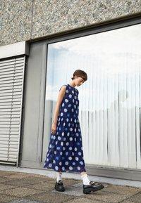 PS Paul Smith - DRESS 2-IN-1 - Day dress - dark blue - 2