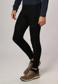 ODLO - LONG X-WARM - Dlouhé spodní prádlo - black - 2