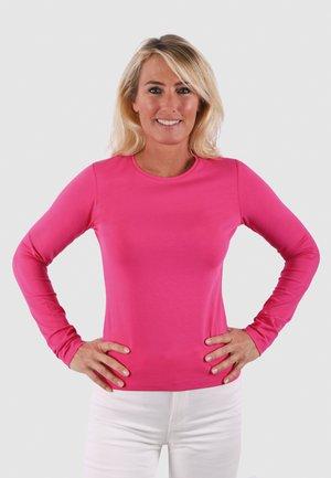 ROUND NECK VENUS - Long sleeved top - new pink