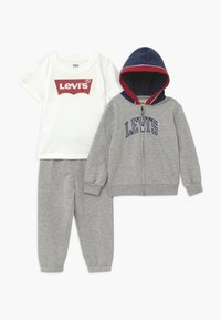 Levi's® - COLOR BLOCKED HOODIE SET - Tracksuit - grey heather - 0