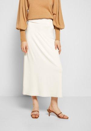 VEGGIA - Pouzdrová sukně - beige