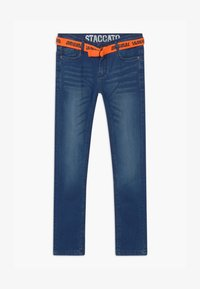 Staccato - Slim fit jeans - mid blue denim - 0