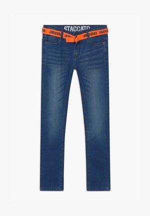 Slim fit jeans - mid blue denim