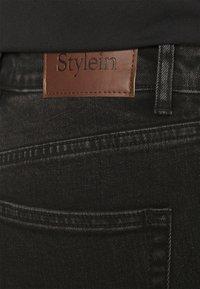 Stylein - KASEY - Džíny Straight Fit - black - 5