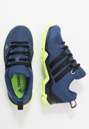 TERREX AX2R - Hiking shoes - collegiate navy/core black/signal green