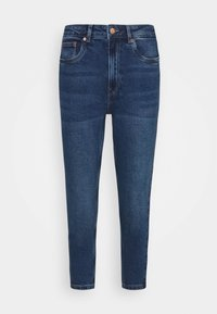 Vero Moda Petite - VMJOANA MOM - Slim fit jeans - medium blue denim - 4