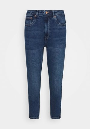 VMJOANA MOM - Slim fit jeans - medium blue denim