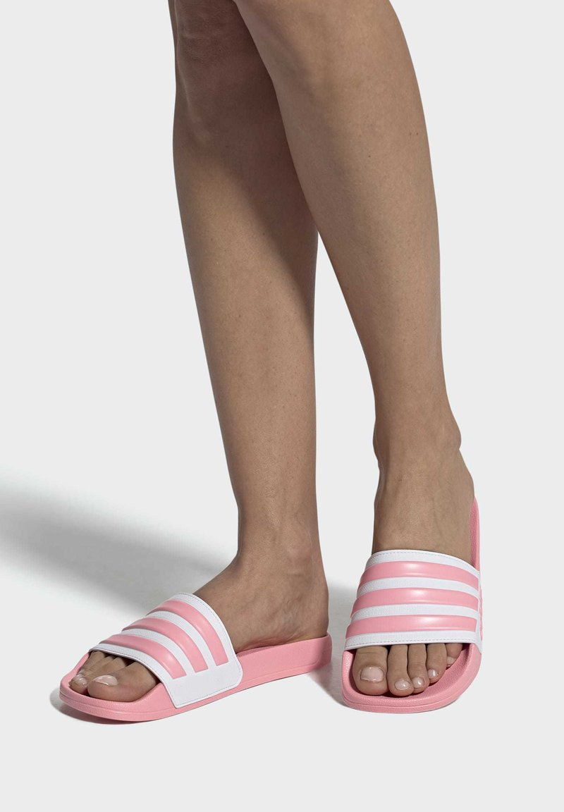 adidas Performance - ADILETTE SHOWER SLIDES - Pool slides - glory pink