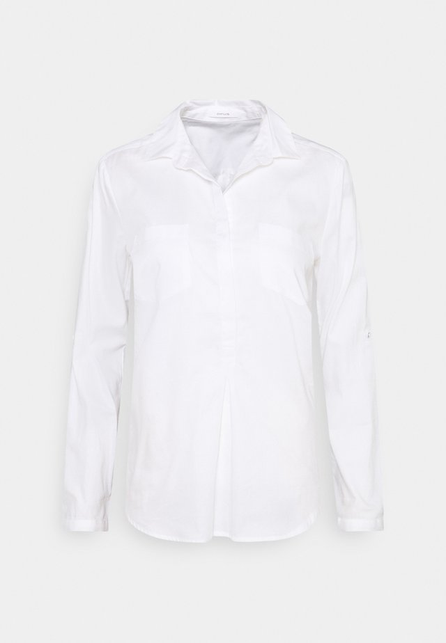 FALENTA - Button-down blouse - white