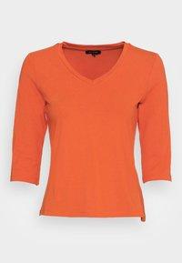 Long sleeved top - orange flame