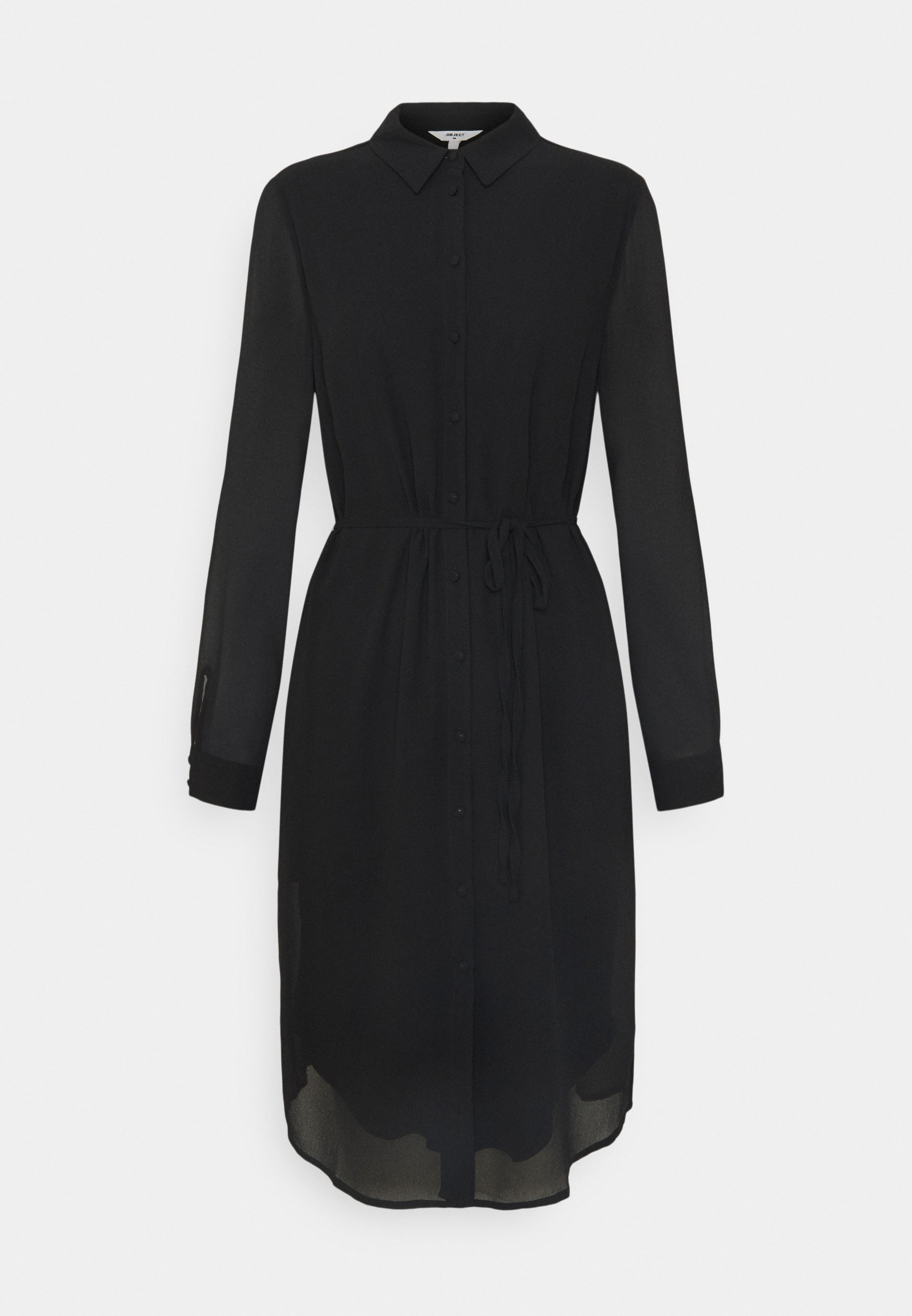 Mujer OBJMILA BAY SHIRT DRESS  - Vestido informal