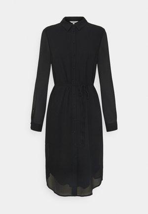 OBJMILA BAY SHIRT DRESS  - Vestido informal - black