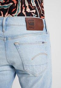G-Star - 3301 SLIM - Slim fit jeans - blue denim - 4