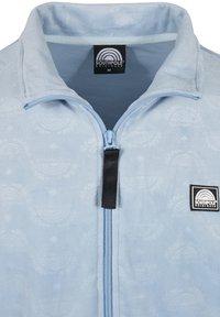 Southpole - AOP VELOUR - Training jacket - babyblue - 7