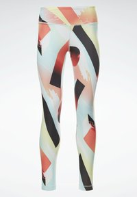 Reebok - REEBOK LUX BOLD LEGGINGS - Trikoot - orange - 4