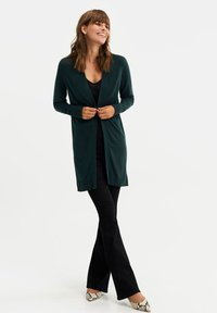 WE Fashion - Cardigan - dark green - 1