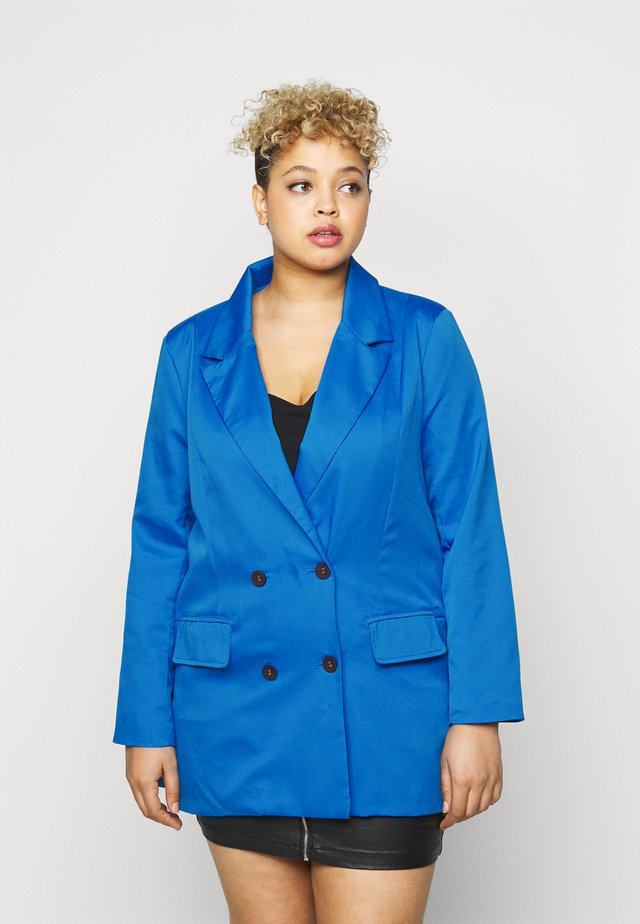 DOUBLE BREASTED  - Blazer - blue