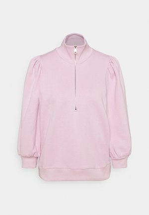NANKITAGZ ZIPPER  - Sweatshirt - fragrant lilac