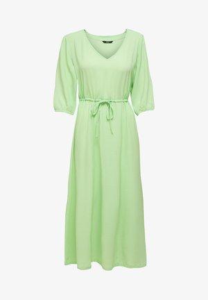 Vestido largo - pastel green