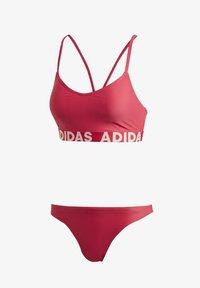 adidas Performance - BEACH BIKINI - Bikini - pink - 8