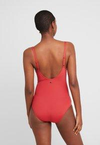 LASCANA - JETTE JOOP BY LASCANA SWIMSUIT - Swimsuit - rust red - 3
