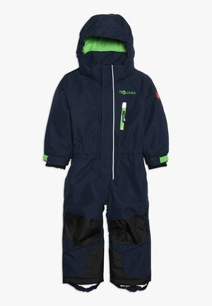 KIDS ISFJORD SNOWSUIT - Skioverall / Skidragter - navy/green