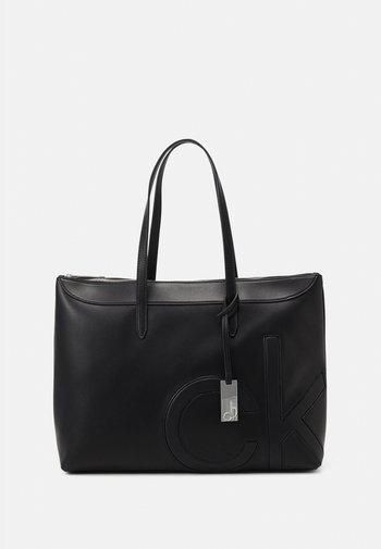 SHOPPER COMP - Laptop bag - black