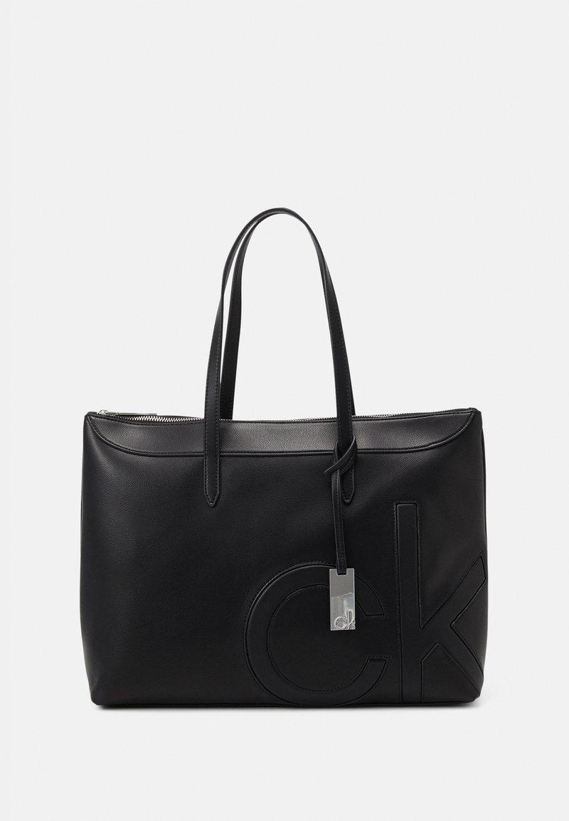 Calvin Klein - SHOPPER COMP - Laptop bag - black