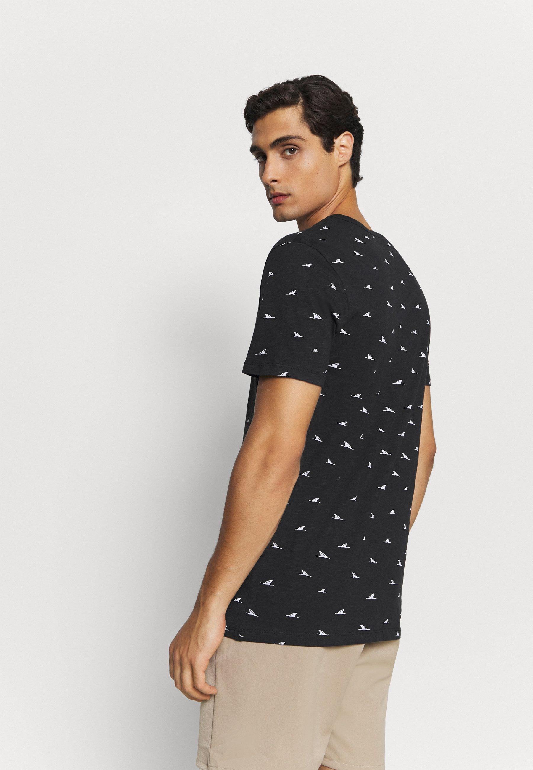 Pier One Print T-shirt - black WgwW6